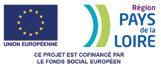 Logo Région Pays de la Loire Union européenne