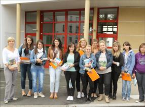 Eleves école Saint Marie Chantonnay