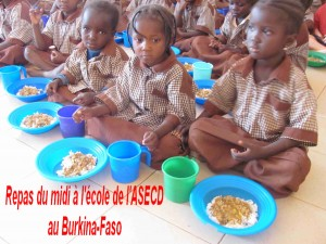 Repas au Burkina Faso