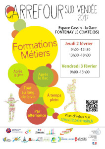 Formation Métiers Carrefour Sud Vendée 2017
