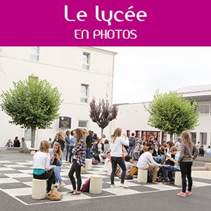 """Onglet """"le lycée en photos"""""""